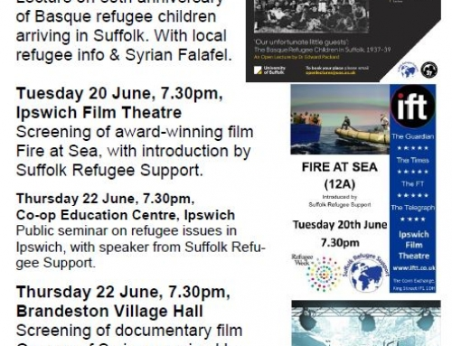 Refugee Week Programme