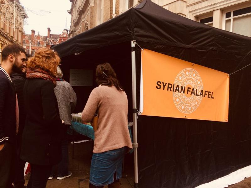 Syrian Falafel at Ipswich Market!