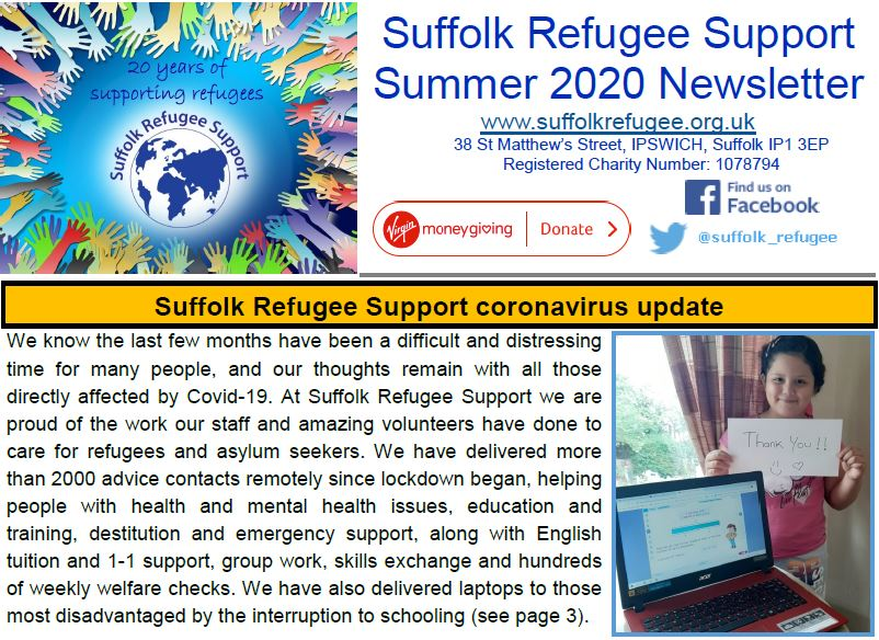 SRS Summer Newsletter
